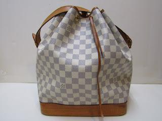 Louis Vuitton Noe Damier Azur Shoulder Bag