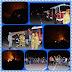 Fuego en la Loma de la Mellizas Distrito Municipal de Maimón