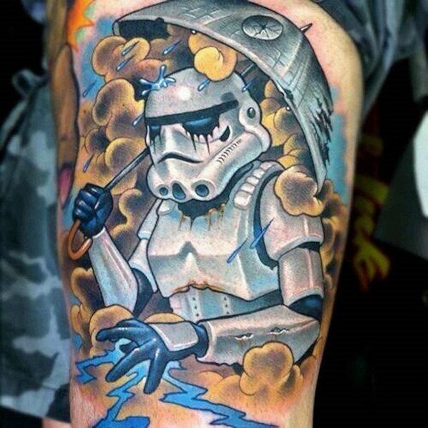 este_stormtrooper_carregando_um_elegante_guarda-chuva_de_estrela_da_morte
