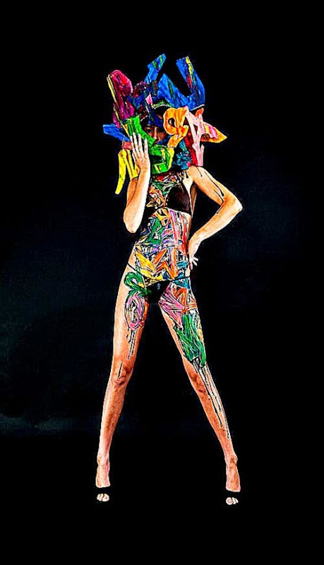 Graffiti Bikini – Street Art and Body Painting by Mr Shiz  Ufunk