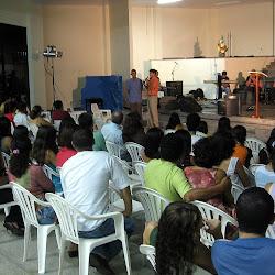 culto jovem missionário