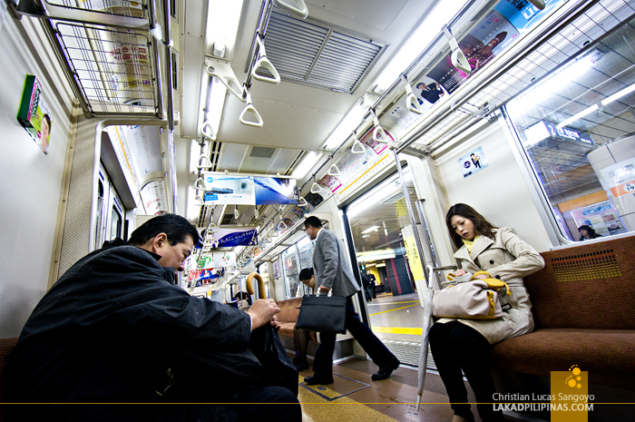 Inside the Tokyo Subway