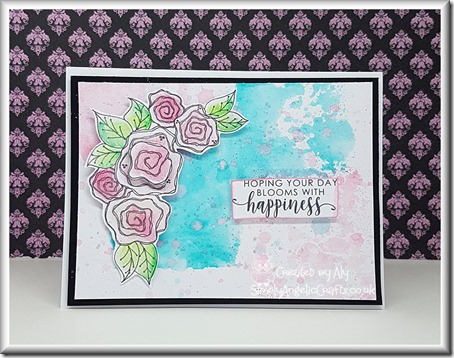Julie Hickey Stamp Rosey Posey 01 with watermark