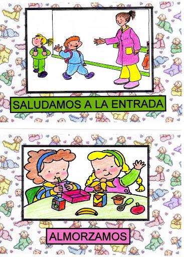 MAESTRA DE INFANTIL. : Carteles para las Rutinas