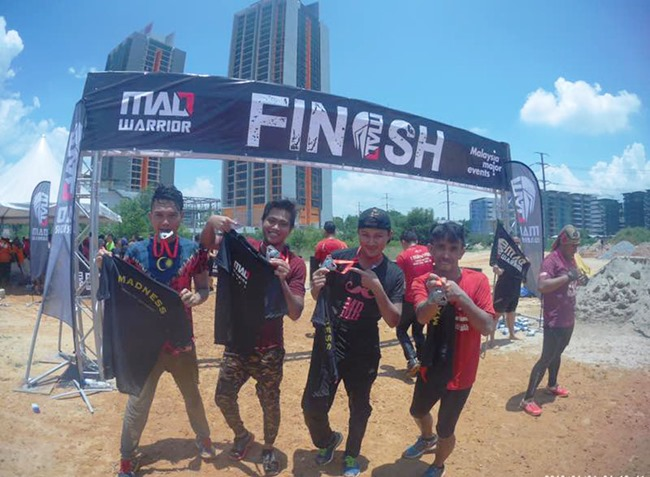 finisher mad warrior 2017