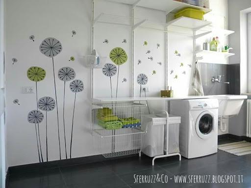 Sferruzz co t g house lavanderia prima parte le piastrelle