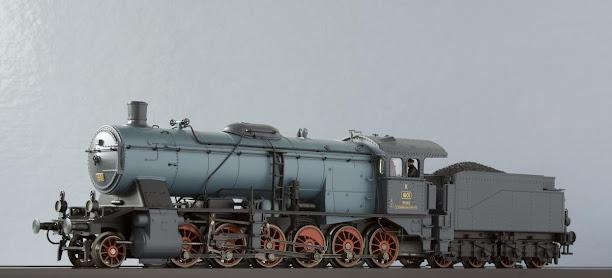 Modeli parnih lokomotiva DRG 59%257EM37059