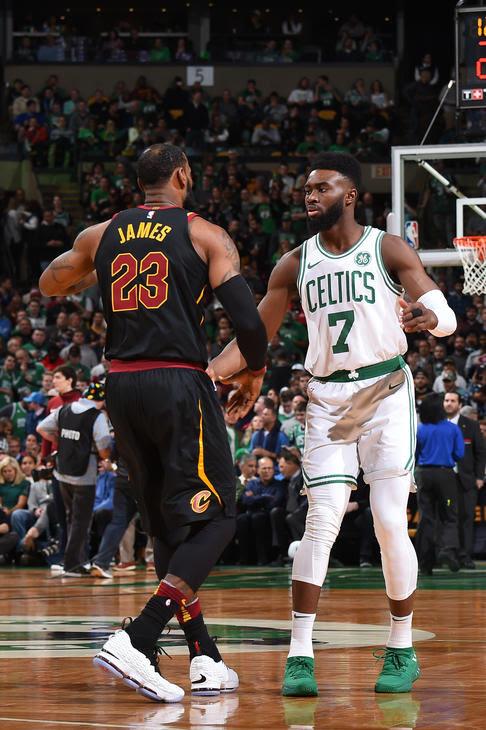 The King Breaks Out 'Graffiti' Nike LeBron 15 PE vs. Celtics | NIKE LEBRON - LeBron James Shoes