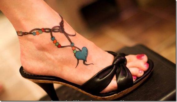 Attachant De La Cheville Conceptions De Tatouage Idees Et Photos