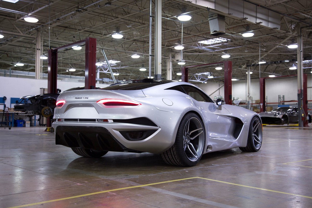 detroit 2016 - this is vlf force 1 v10 - america u0026 39 s newest supercar