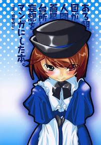 Aru Asa Me ga Sametara, Ningen ni Natta Souseiseki ga Daidokoro ni Tatte ita to Iu Mousou wo Manga ni Shita Hon.
