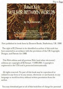 Cover of Robert John Stewart's Book Robert Kirk Walker Between Worlds