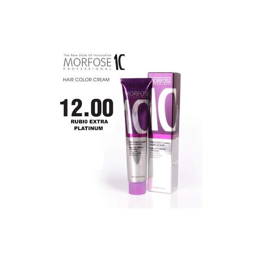 tinte morfose tubo 10 crema rubio extra platinum 12 100ml