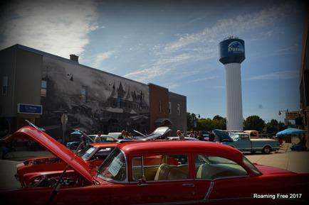 Durand car show
