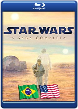 Download Star Wars A Saga Completa BluRay 720p x264 Dual Áudio