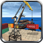 Cargo Forklift Driver 3D Icon