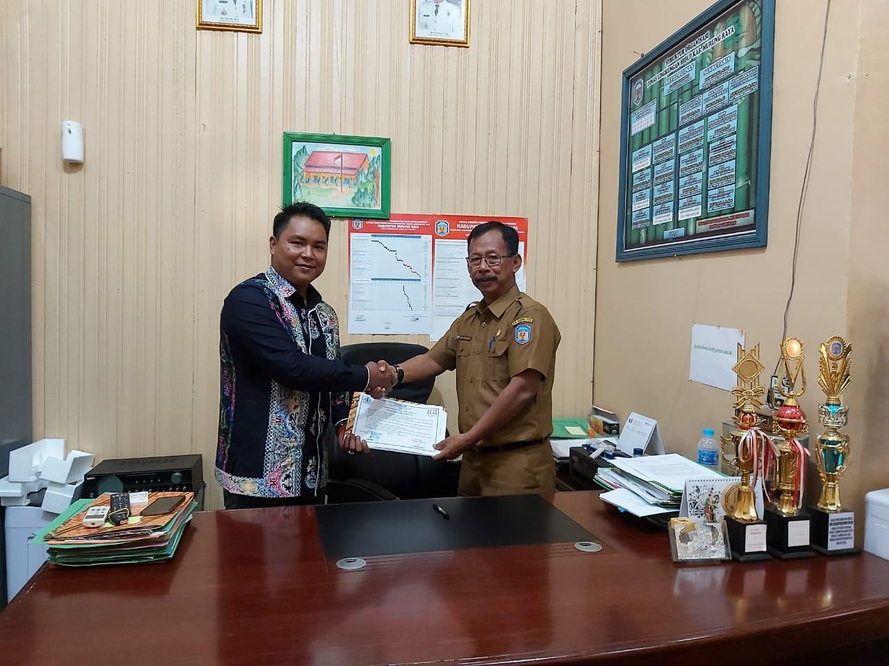 Kesepahaman Kerjasama Aliansi Masyarakat Adat Nusantara(AMAN)Dengan Dinas Lingkungan Hidup (DLH) Berjalan Dengan Baik.