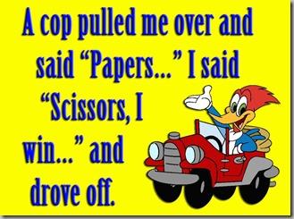 cop paper scissors