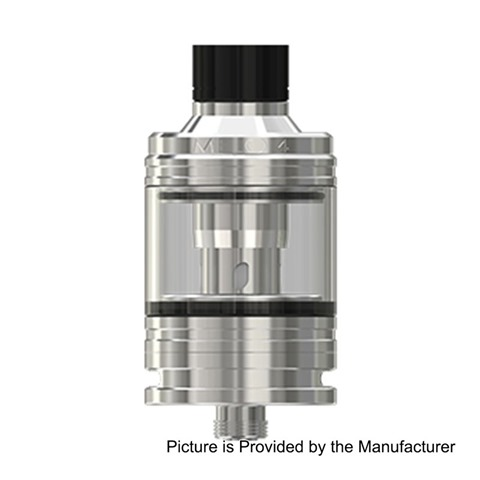 authentic-eleaf-melo-4-sub-ohm-tank-atomizer-silver-stainless-steel-45ml-25mm-diameter