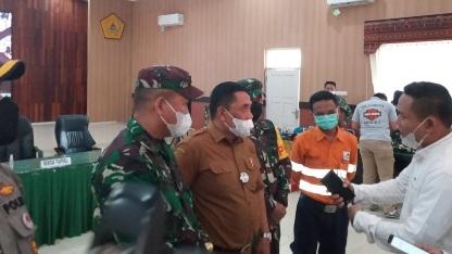 Wakil Bupati Tapsel TMMD ke-111 Kodim 0212/TS Bawa Kemajuan Desa Siuhom