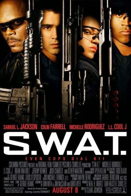 Poster Of S.W.A.T. (2003) Full Movie Hindi Dubbed Free Download Watch Online At Alldownloads4u.Com