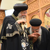 His Holiness Pope Tawadros II visit to St. Mark LA - DSC_0286.JPG