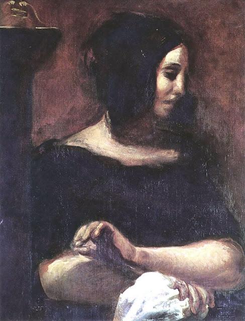 Eugène Delacroix - George Sand, 1838