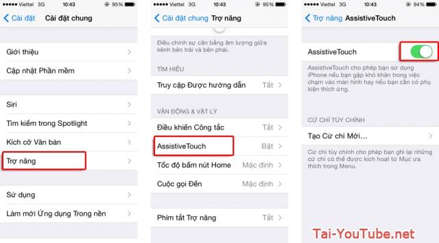 Hình 3 - Hướng dẫn cách chụp ảnh màn hình iPhone, iPad