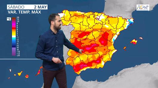 Ola de calor en el norte e interior de la provincia