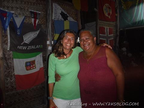 Con Liza - Fakarava