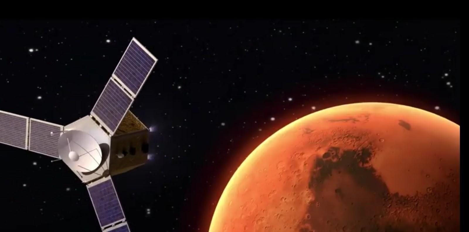 (( مسبار الأمل)) هدف الإمارات إلى كوكب المريخ - أول قمر صناعي  عربي إلى المريخ (هل سيصل - طموح وتحدي)