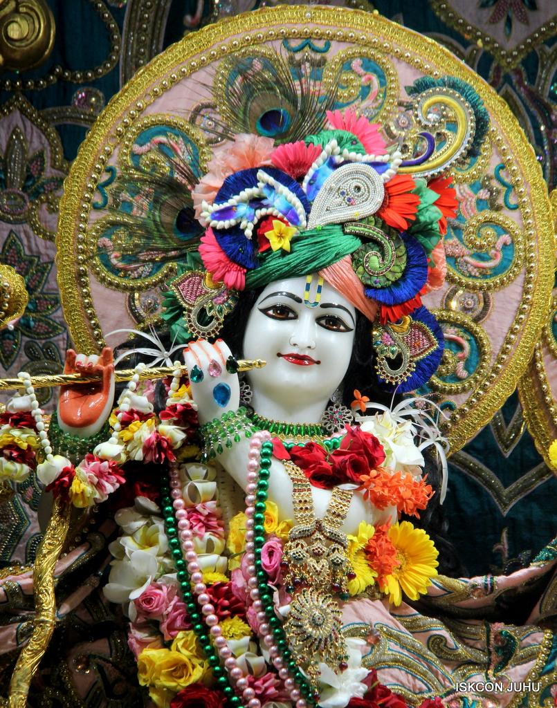ISKCON Juhu Sringar Deity Darshan on 25th Oct 2016 (6)