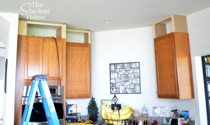 Extending Kitchen Cabinets To The Ceiling The Stonybrook