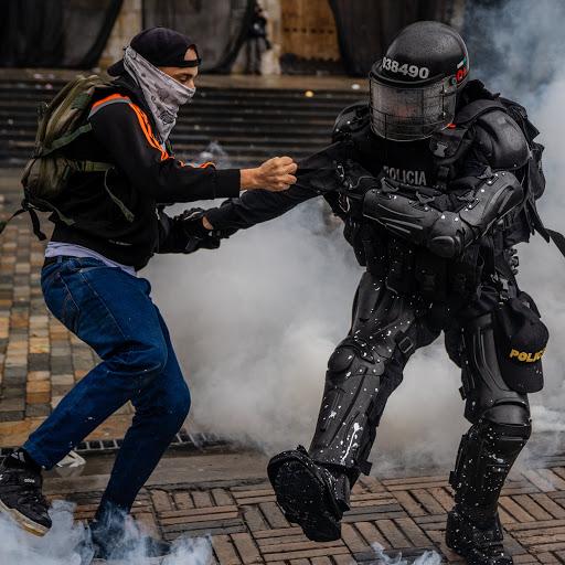 La brutalidad del Estado asesino de Colombia