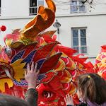La tête du dragon rouge