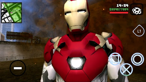 DOWNLOAD!! INCRÍVEL IRON MAN GTA SAN PARA CELULARES ANDROID (MODPACK) 2019