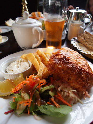 Fish and Chips, Kinnity Castle Co Offlay. Ireland for Foodies. From Ireland Family Vacations