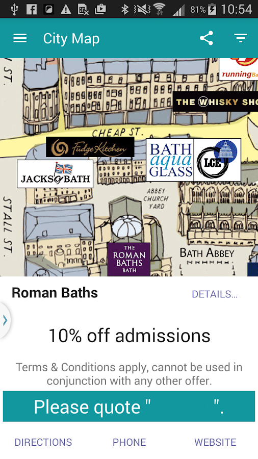 Bath SO Maps Visitor Guide Map Android Apps On Google Play