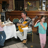 "The Pensacola Cultural Center has hosted a Kids Expo at the Conference Center every year for the past eleven years, and the Jazz Society participates as a way to introduce the attending children and families to Jazz. Norman Vickers has organized the JSOP booth every year, with the assistance this year of guitarist Art Carnrick as ""Arturo"" and Ralph Knowles."