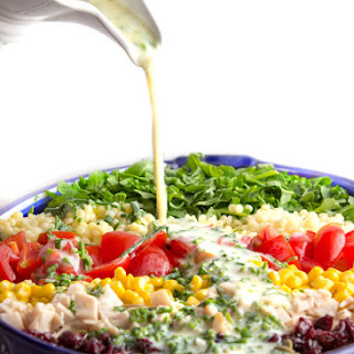 Chopped Salad with Herb Buttermilk Dressing Recipe