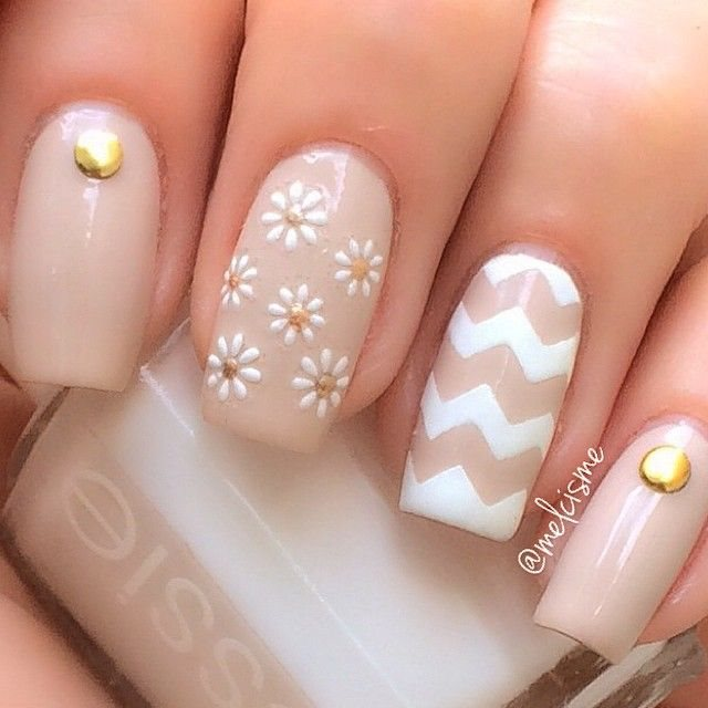 brown nail art designs trends 2015 2016 - Styles 7