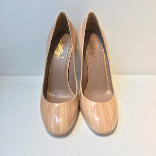 Yves Saint Laurent Patent Leather Pumps