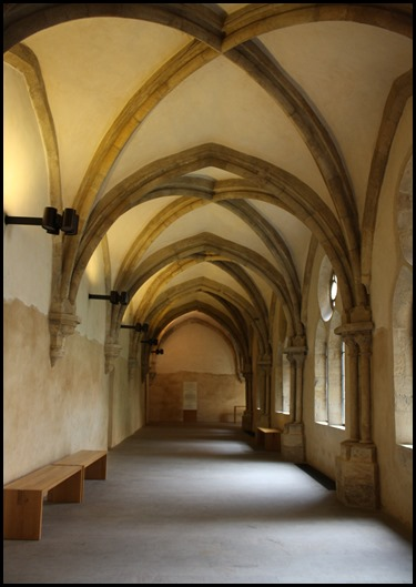 Gothic cloister St Agnes of Bohemia