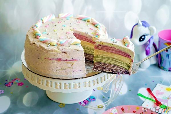 Unicorn Rainbow Mille Crêpe Cake 獨角獸彩虹法式薄餅千層蛋糕  http://YouTube.uTry.itUnicorn Rainbow Mille Crêpe Cake 獨角獸彩虹法式薄餅千層蛋糕  http://YouTube.uTry.it
