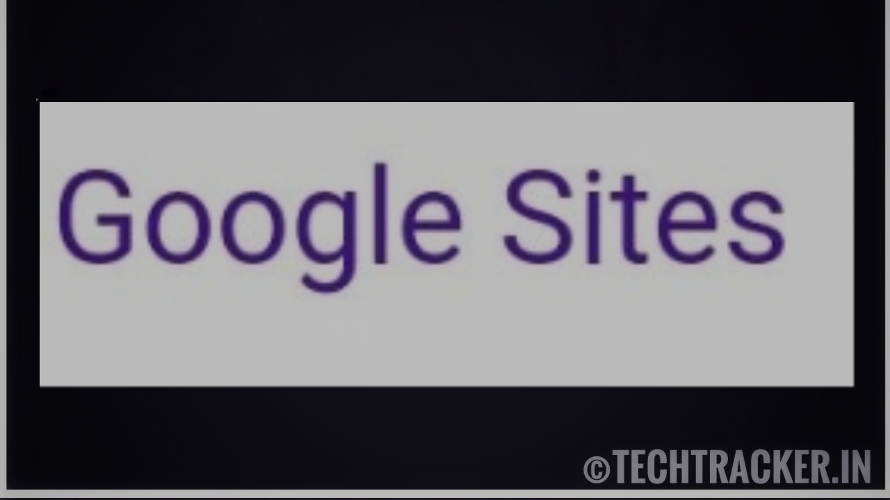 How to create website with google sites for free !
