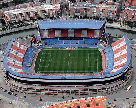 Dispositivo de seguridad del partido de fútbol Atlético de Madrid - Galatasaray
