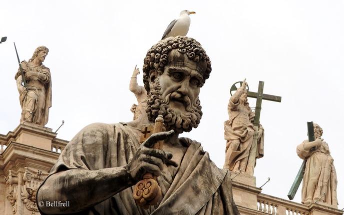 Auf Petrus Bellfrell im Vatikan (28)