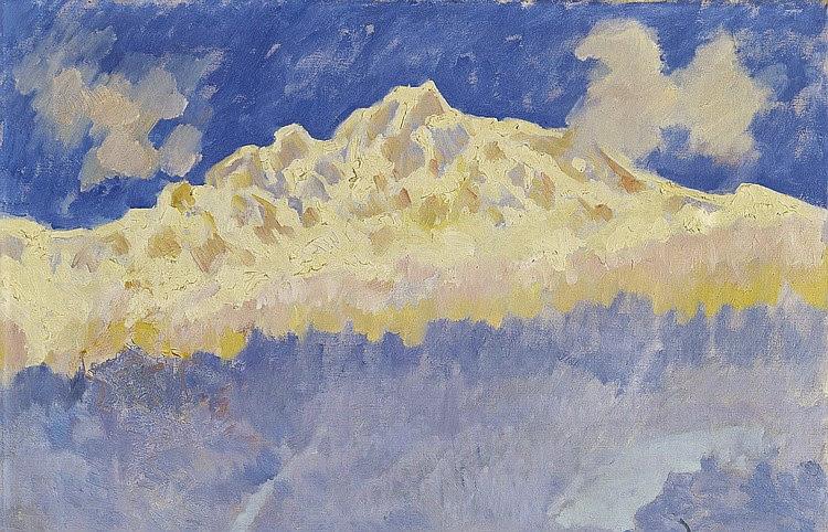 Giovanni Giacometti - Wintermorgen