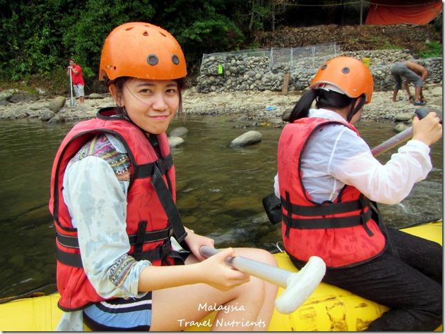 馬來西亞沙巴 九如河泛舟 溜索 (8)