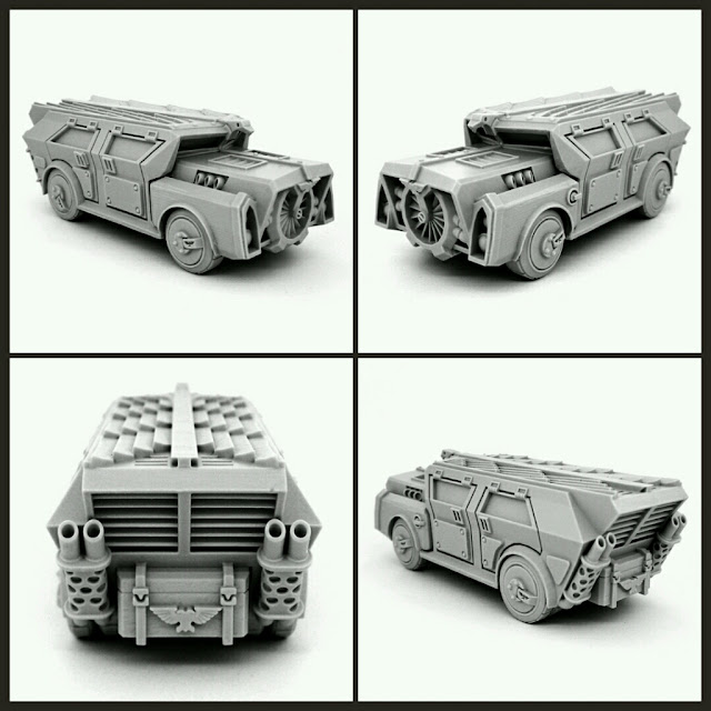 STANDARD TRANSPORT CAR wargame exclusive
